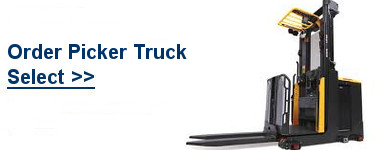 Select TCM Order Picker Trucks